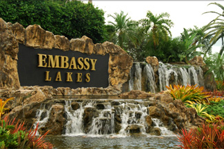 Embassy Lakes community