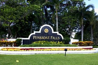 Pembroke Falls community
